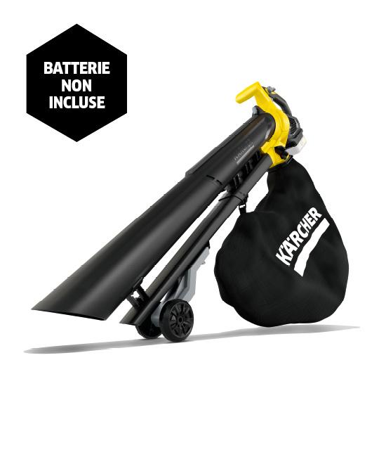Souffleur aspirateur broyeur sans fil BLV 18-200 Battery