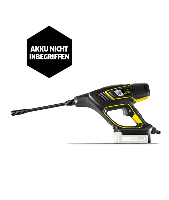 Akku-Mitteldruckreiniger KHB 5 Battery