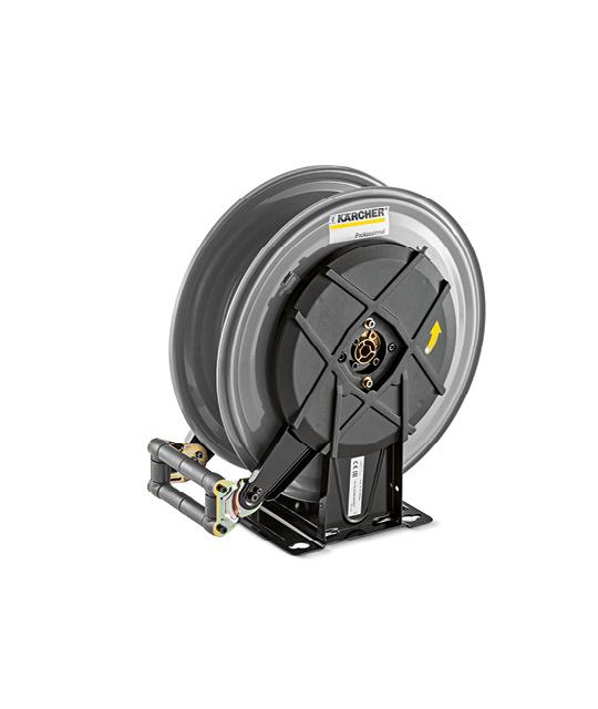 Tambour-enrouleur automatique en matière acier 20m