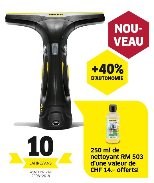 Nettoyeur vitres WV 2 Premium 10 Years Edition, RM 503 incl.