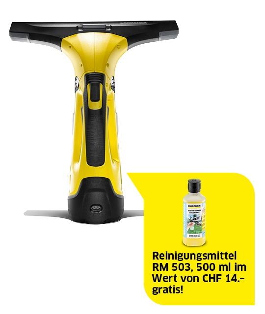 Akku Fensterreiniger WV 5 Premium inkl. RM 503