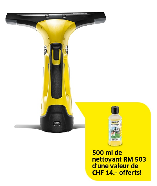 Nettoyeur vitres sans fil WV 5 Premium, RM 503 incl.